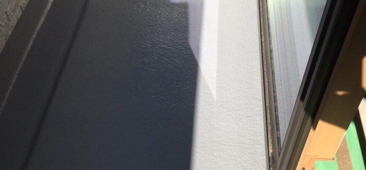 大分市*FRP防水工事 仕上げ トップコート塗布