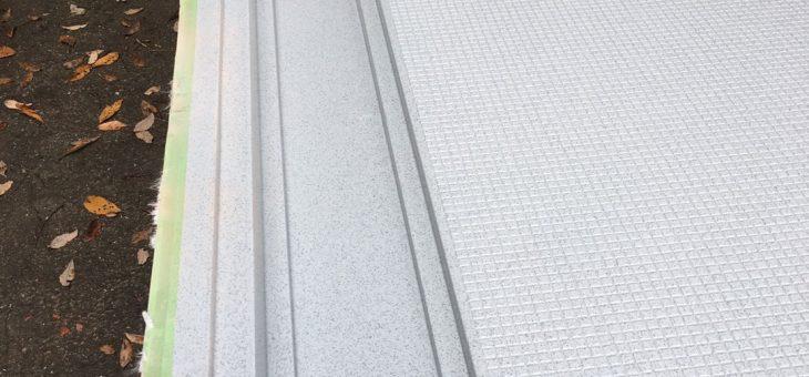 大分市*浴室床FRPパネル製作